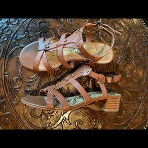 "Sam Edelman ""Angela"" Strappy Leather Heeled Sandal"